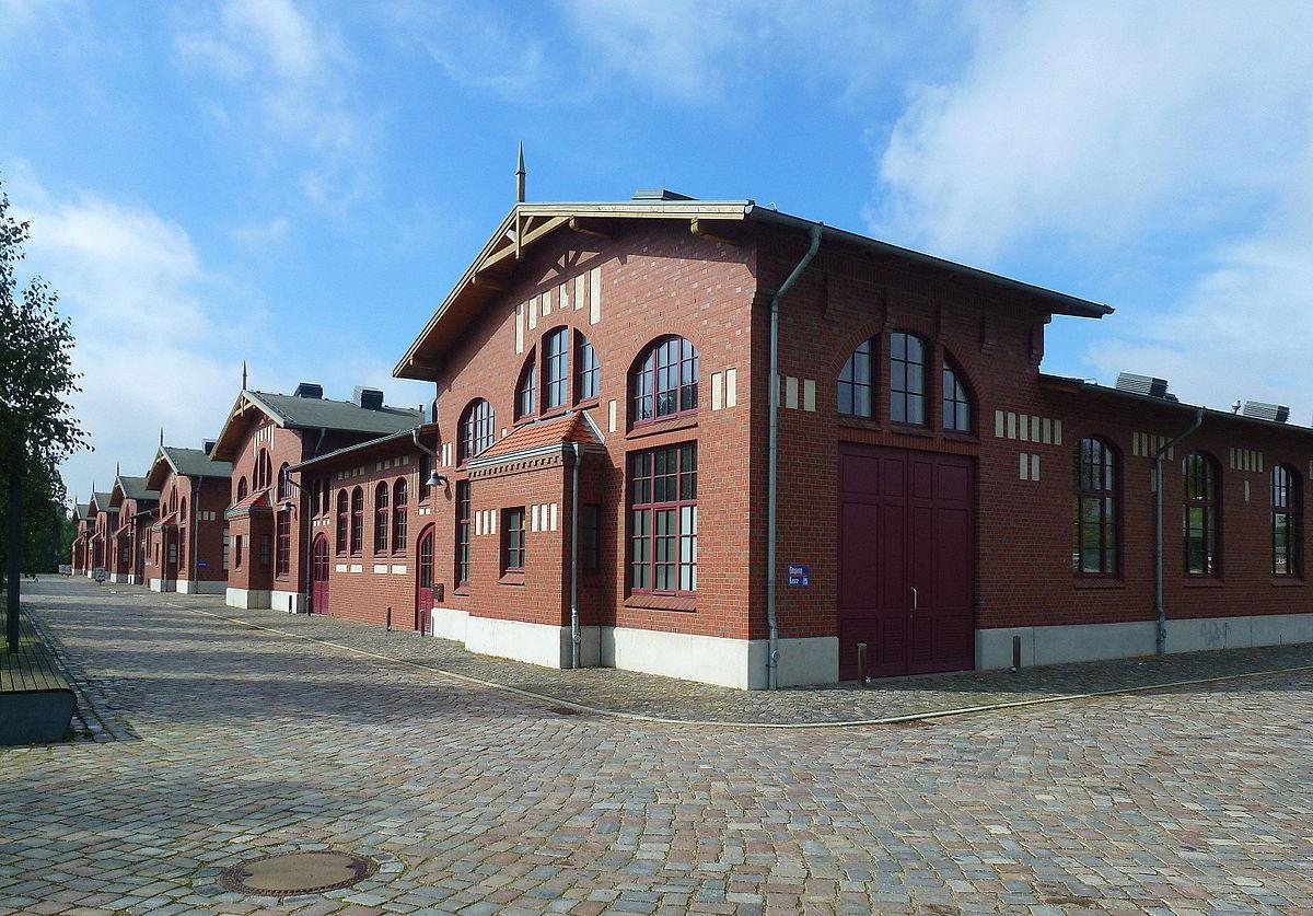 Gebäude der BallinStadt