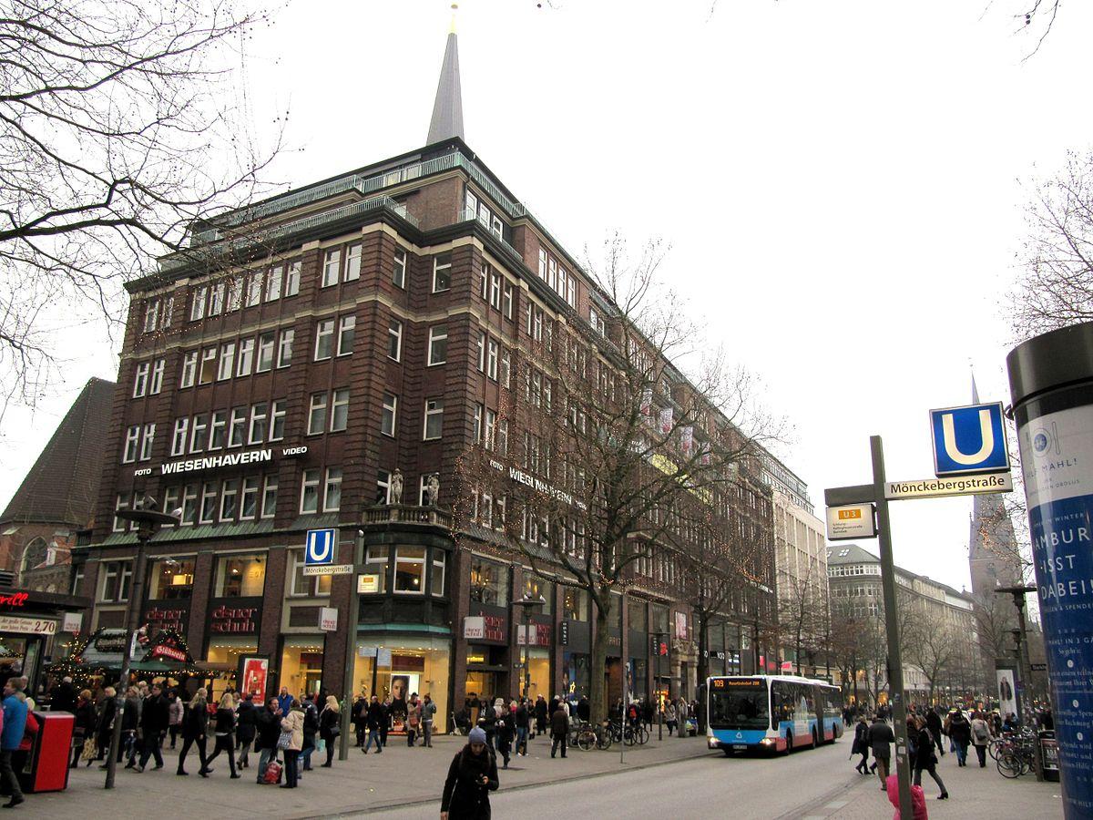 Einkaufen in der Mönckebergstraße