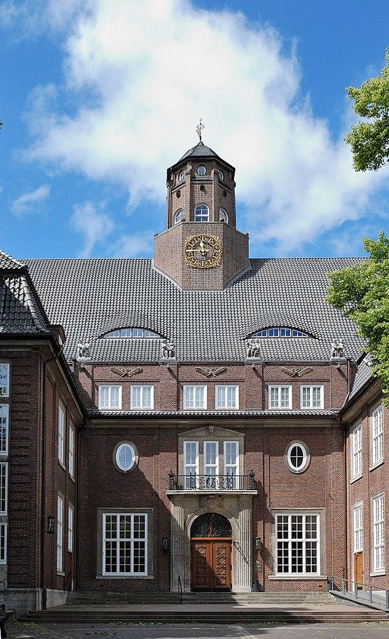 Der Eingang zum Museum für Hamburgische Geschichte