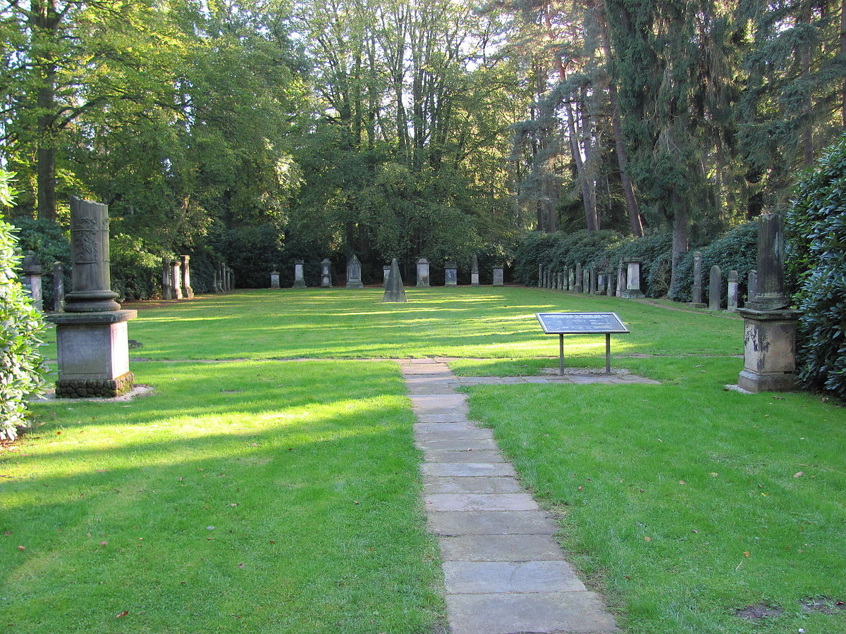 Gräber auf dem Ohlsdorfer Friedhof