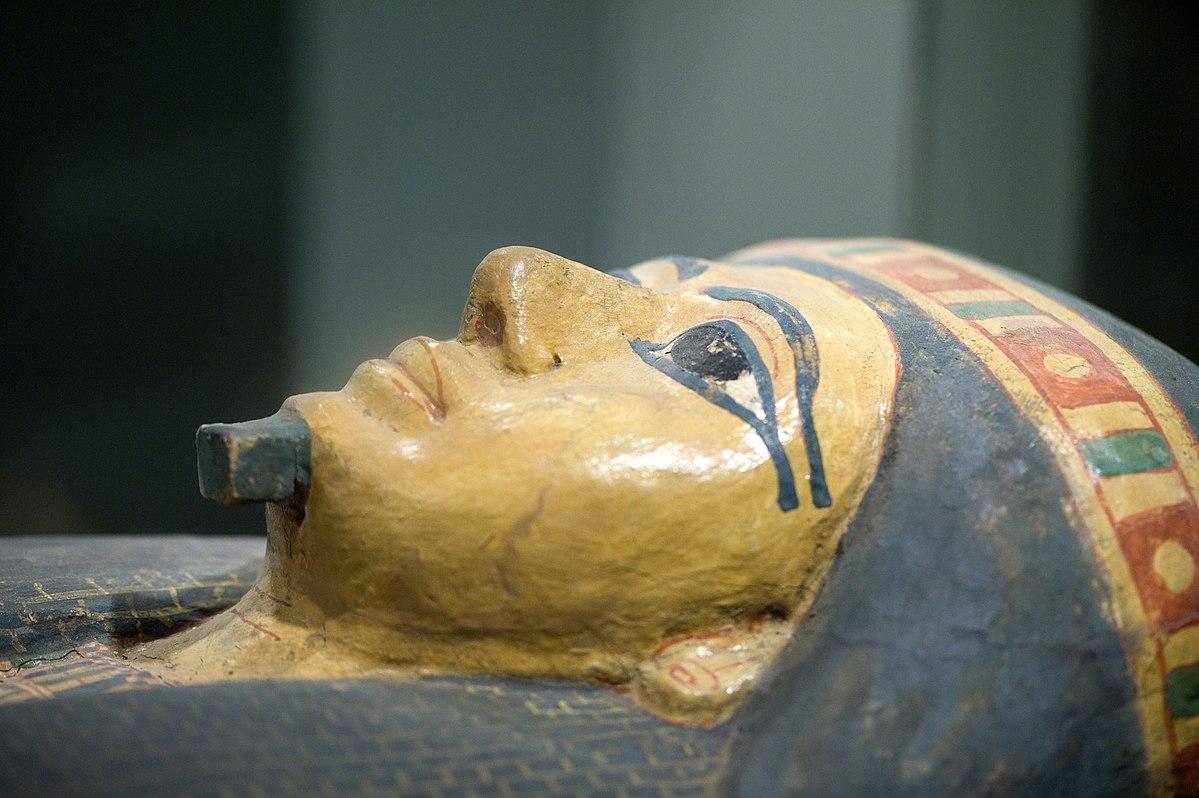 Pharaonengrab im Allard Pierson Museum