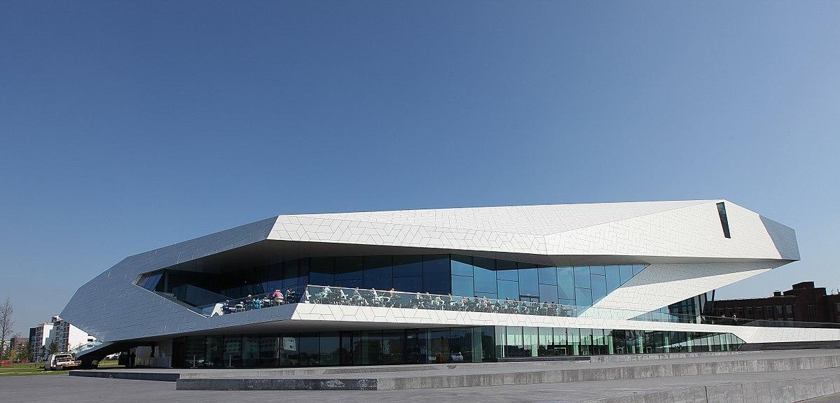 Das Gebäude des EYE Film Instituut Nederland
