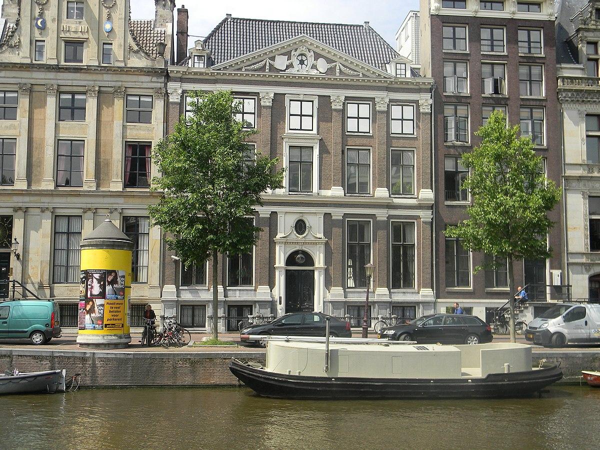 Die Fassade von Het Grachtenhuis