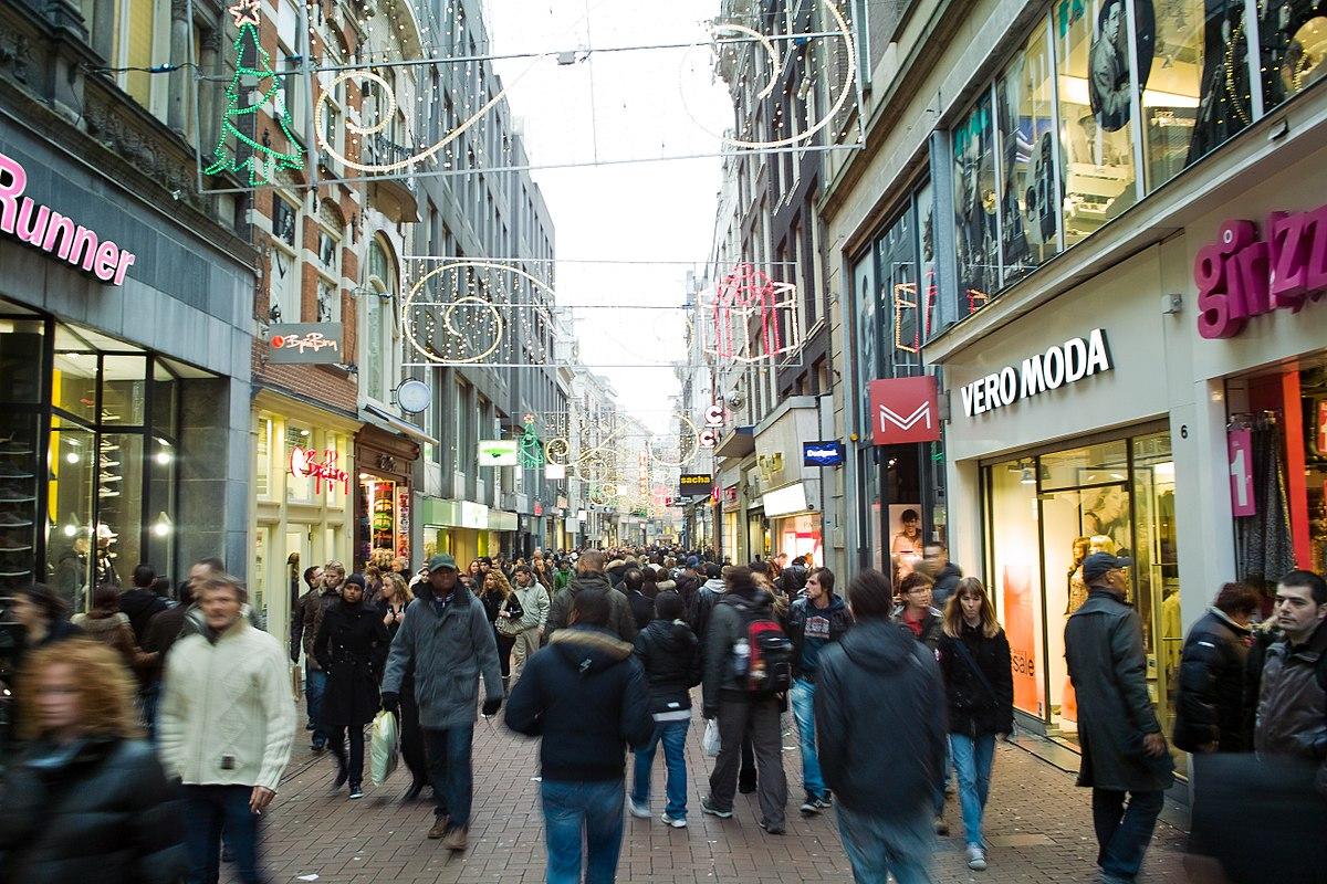 Geschäfte in der Kalverstraat
