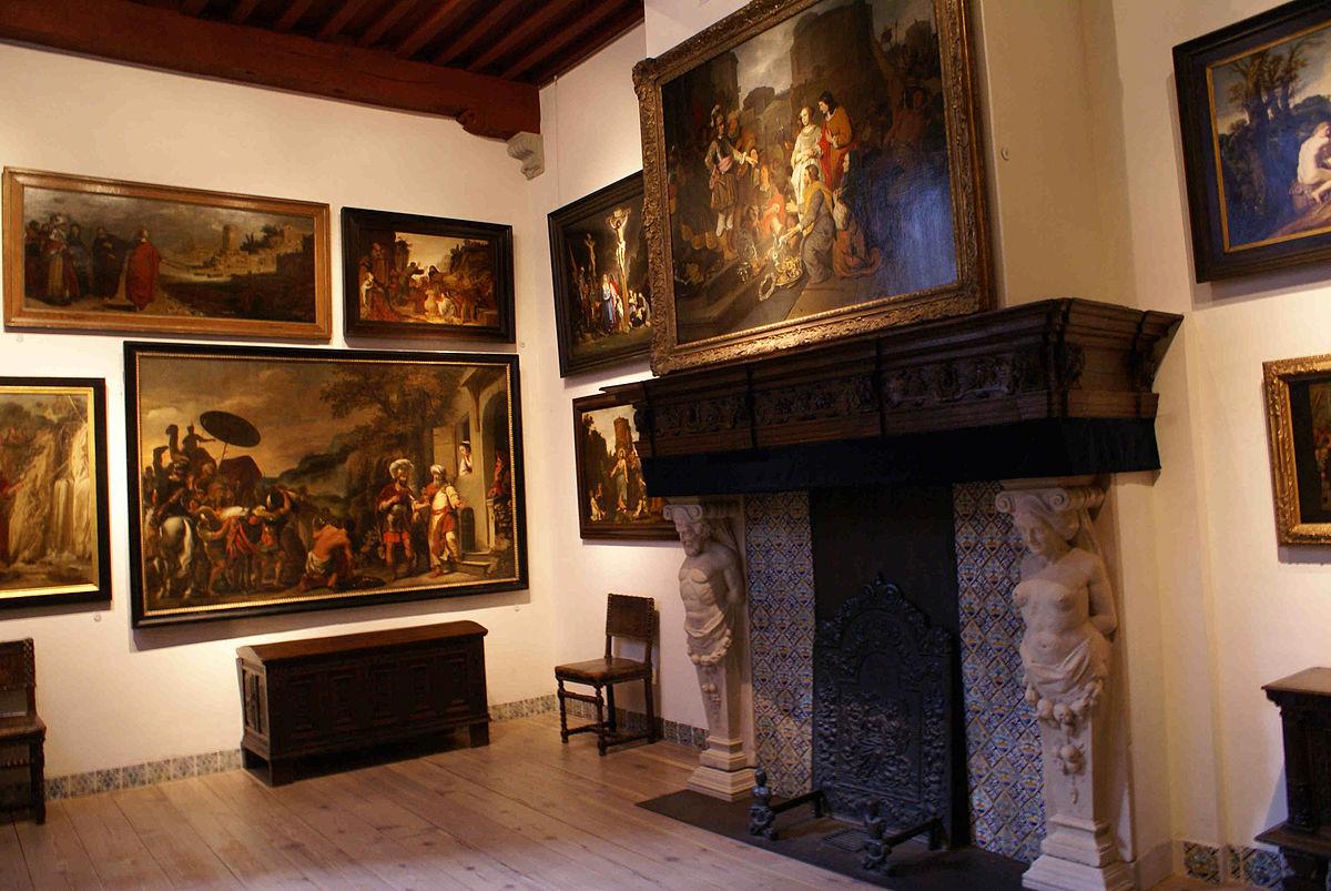 Gemälde im Museum Het Rembrandthuis