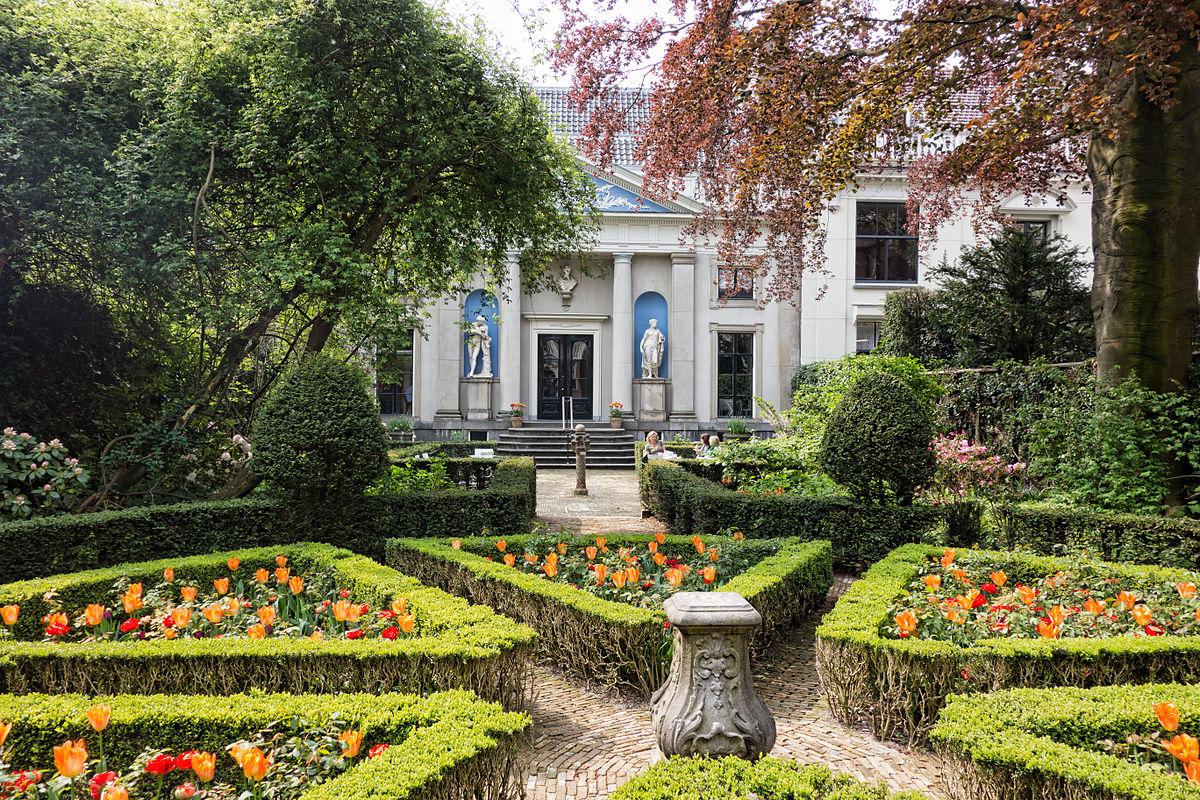 Der Garten des Museum Van Loon