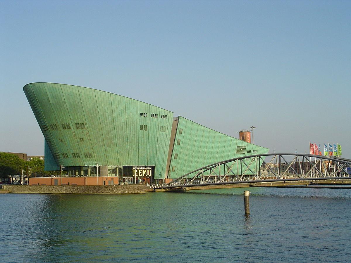 Das Gebäude des NEMO