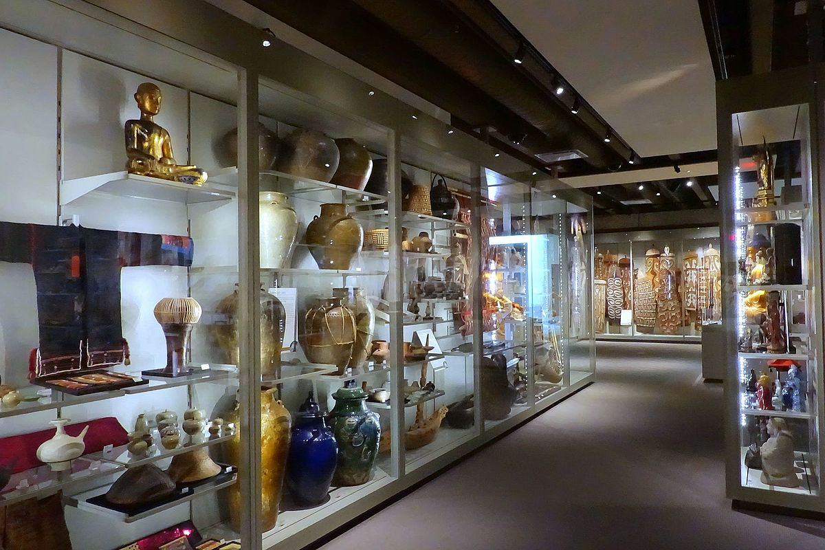 Exponate im Museum of Anthropology