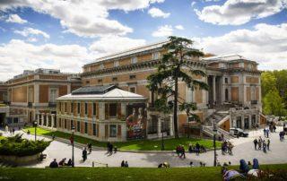 Seitenansicht des Museo del Prado